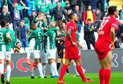 Bursaspor-Kasımpaşa: 4-1