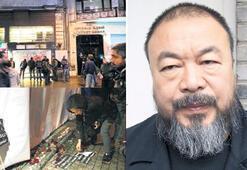 Ai Weiwei de  İstiklal'de
