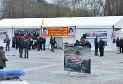 Belçikadaki PKK çadırı hala kaldırılmadı