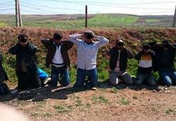Canlı bomba Türkiyeye girmeye çalışırken yakalandı