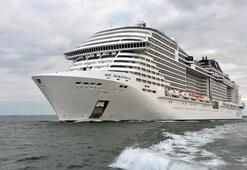 MSC Cruises yeni gemisi Meravigliayı suya indirdi
