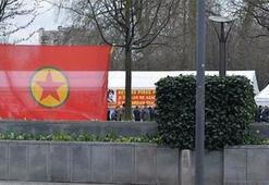 Brükseldeki terör örgütü çadırı kaldırıldı