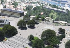 Tarihi Beyazıt meydanına yeni estetik görünüm