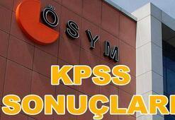 KPSS 2017 sınav sonuçları açıklandı (KPSS sonuç sorgulama ekranı)