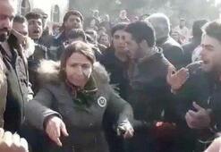 Menbiçte halk PKKya karşı ayaklandı