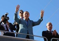 Cumhurbaşkanı Erdoğan Ceylanpınarda halka seslendi