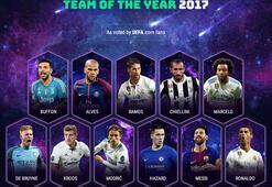 UEFA yılın takımı belli oldu