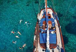 Denizin üstünde tatil