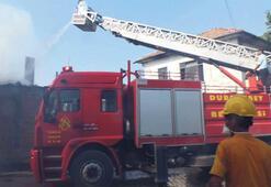 Dursunbey'de seri yangın