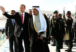 Welcome gesture from Erdoğan to King Selman