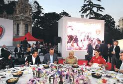Erdoğan'dan sporculara iftar