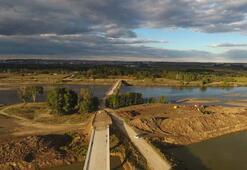 Edirneyi su baskınlarından kurtaracak kanal projesinde sona gelindi