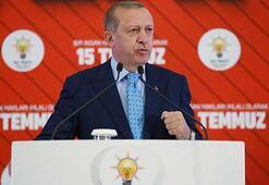 Cumhurbaşkanı Erdoğan: Tarihimizin en alçak ihanet girişimini unutmayacağız