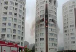 Son Dakika... Ümraniyede yangın
