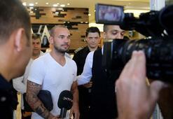 Galatasarayda Sneijderin ardından ikinci deprem