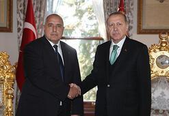 Cumhurbaşkanı Erdoğan, Bulgaristan Başbakanı Borisov ile görüştü