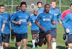 Trabzonsporda Sosa ve Esteban kampa katıldı