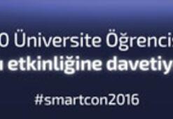 Smartcon2016 Zirvesine 30 öğrenci ücretsiz katılabilecek