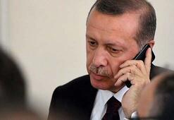 Cumhurbaşkanı Erdoğandan Özkulun ailesine taziye telefonu