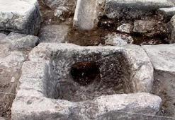 Sagalassosta 2 bin yıllık çeşme bulundu