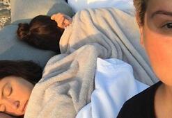 Deprem Hadiseyi de korkuttu Ünlü şarkıcı sokakta uyudu