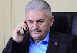 Başbakan Yıldırım'dan iki aileye taziye telefonu