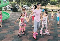 Ödemiş'te yeni oyun gruplarını çocuklar çok sevdi