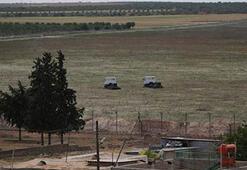 Five mortar shells hit Turkish border post