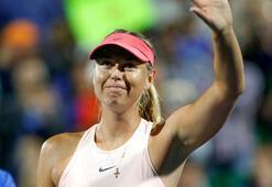 Sharapova korta galibiyetle döndü