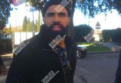 Antalyasporlu futbolcu Sandro, Romada görüntülendi