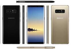 Samsung Galaxy Note 8in tüm teknik özellikleri belli oldu