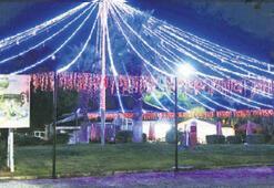 Bornova'ya ışıktan gerdanlık