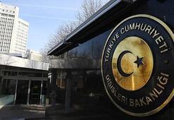 Son dakika: Türkiyeden çok sert açıklama Kabul edilemez...