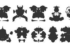 Hermann Rorschach sosyal mürekkep lekesi testini sizde yapın