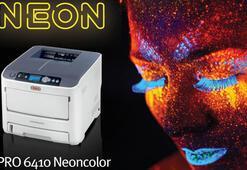OKI'nin renkli neon yazıcısı ile göz alıcı floresan baskılar