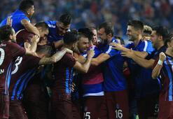 Trabzonsporun 148 günlük iç saha galibiyet hasreti sona erdi