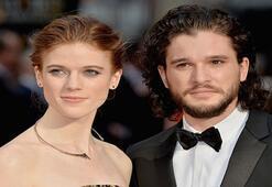 Game of Thrones dizisinde büyük aşk gerçek oldu