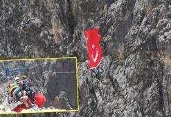 Karanlık Kanyon'dan  Fırat'a atladılar