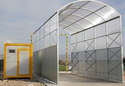 Sınır kapılarına araç dezenfeksiyon sistemi çalışmaları