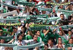Bursasporda erkek taraftar maça hasret