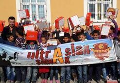UltrAslandan köy okullarına yardım