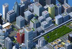 Minecraft İçerisinde Dev Bir Şehir Tasarlandı