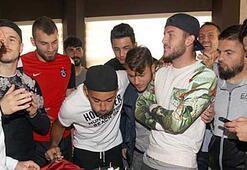 Trabzonsporda Ferhat Yazgana doğum günü kutlaması