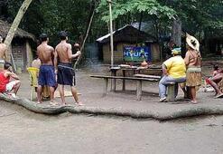 Yerliler televizyonla tanıştı