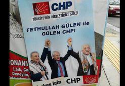 İzmiri karıştıran sahte Gülen afişleri