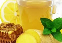 Ballı sütlü zencefil çayı