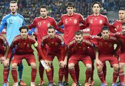İspanyanın nihai kadrosu açıklandı