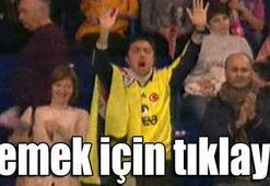 Galatasaray maçında sosyal medyayı sallayan Fenerbahçeli