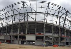 Yeni Adana Stadının yüzde 47si tamamlandı