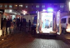 Kaçakları taşıyan minibüs, otomobille çarpıştı: 34 yaralı
